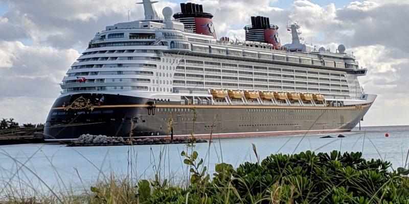 a disney cruise ship