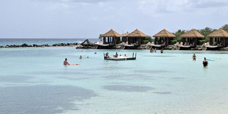 cabanas on renaissance island